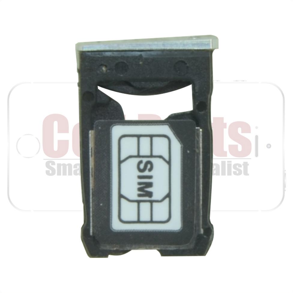 Gaveta Sim Card Motorola Moto X2 XT1097 XT1098 Prata
