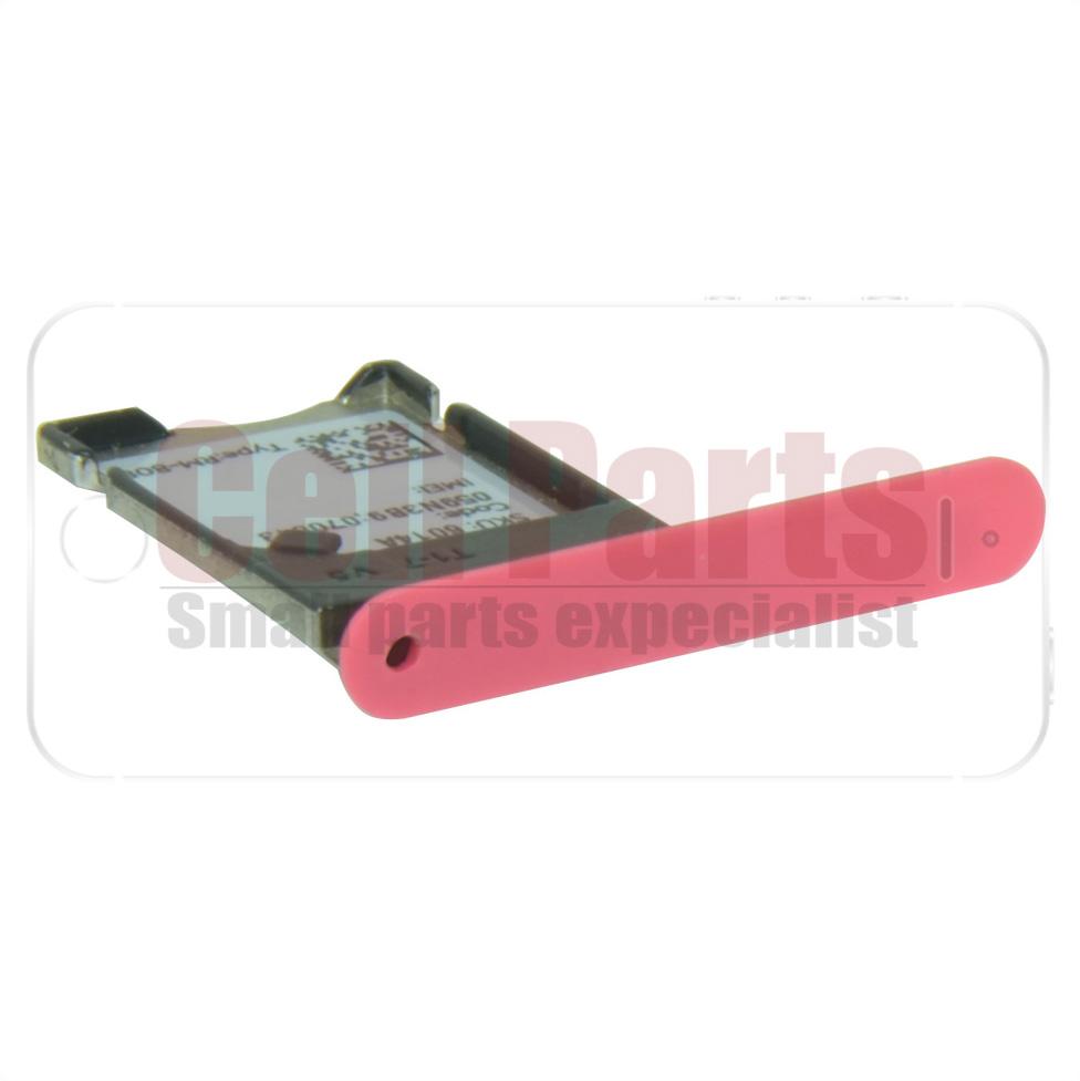 Gaveta Sim Card Nokia Lumia 900 Vermelha