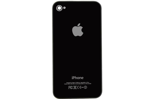 Tampa Traseira iPhone 4G A1349 A1332 Preto