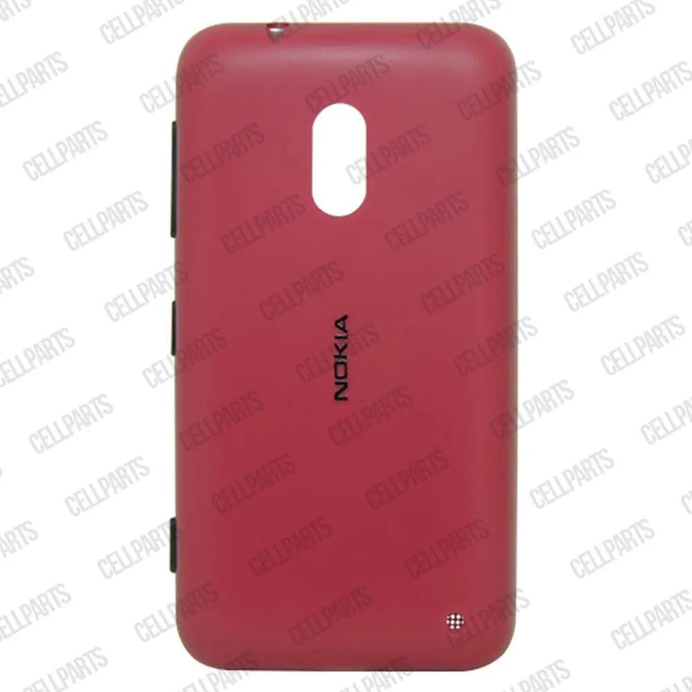 Tampa Traseira Nokia Lumia 620 Vermelha com Botoes Laterais