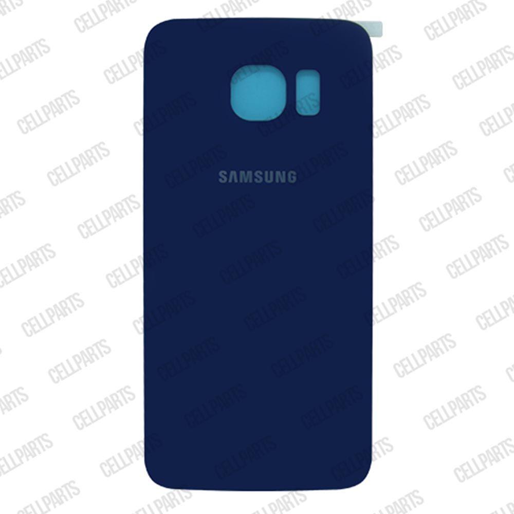Tampa Traseira Samsung G925 S6 Edge Azul