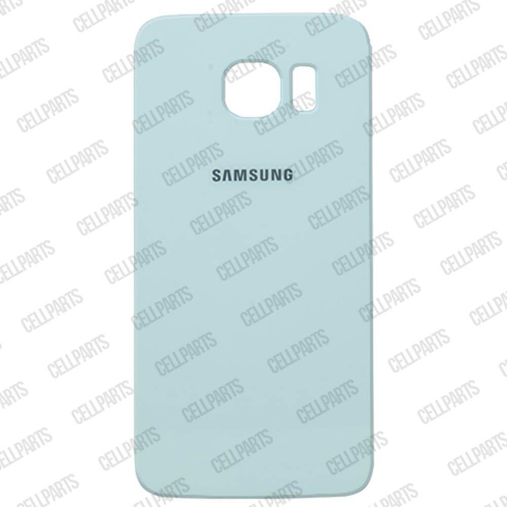 Tampa Traseira Samsung G925 S6 Edge Branca