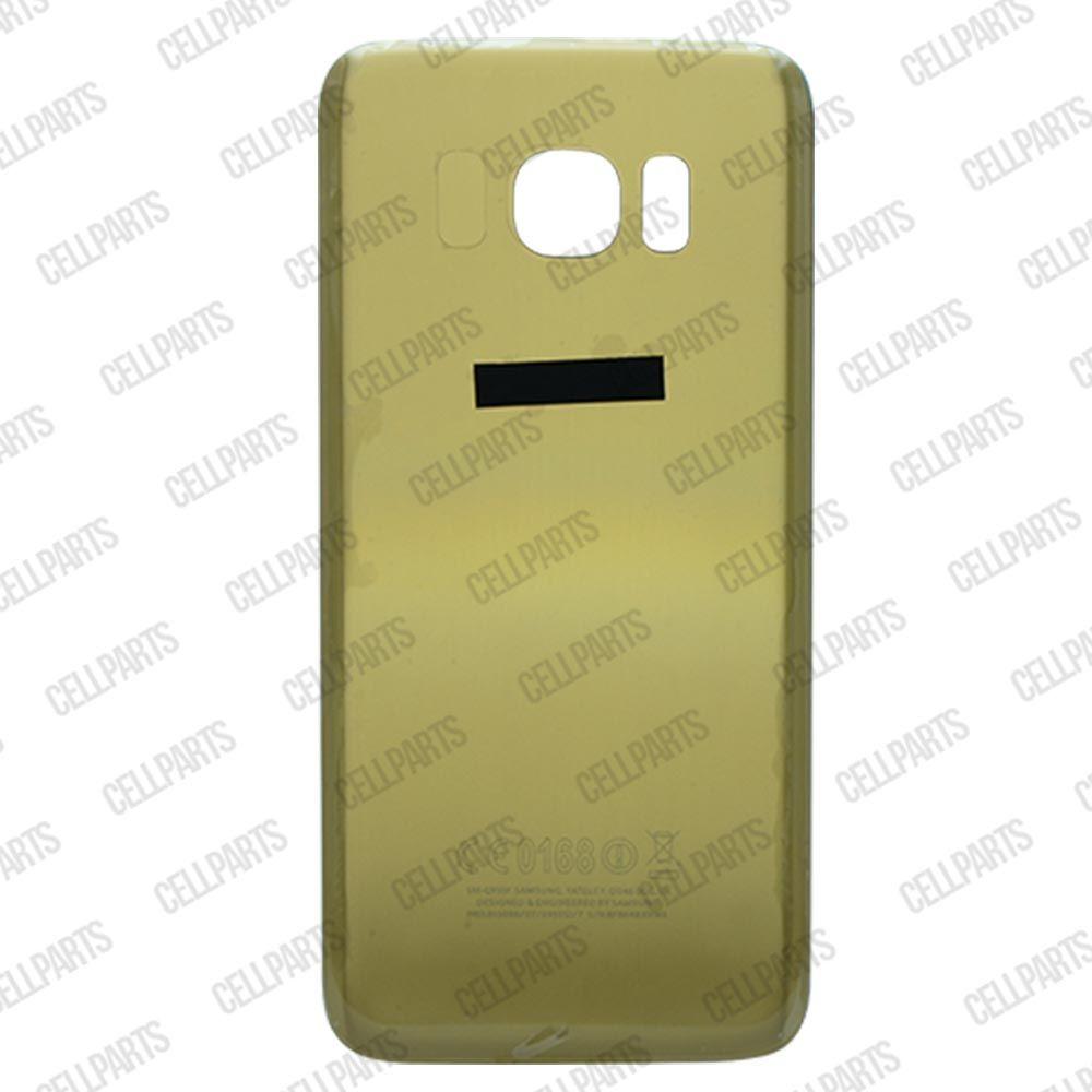 Tampa Traseira Samsung G925 S6 Edge Dourada