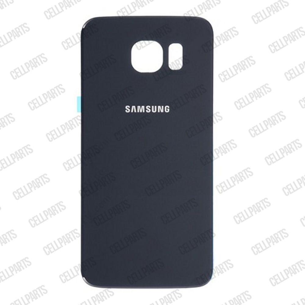 Tampa Traseira Samsung G925 S6 Edge Preto