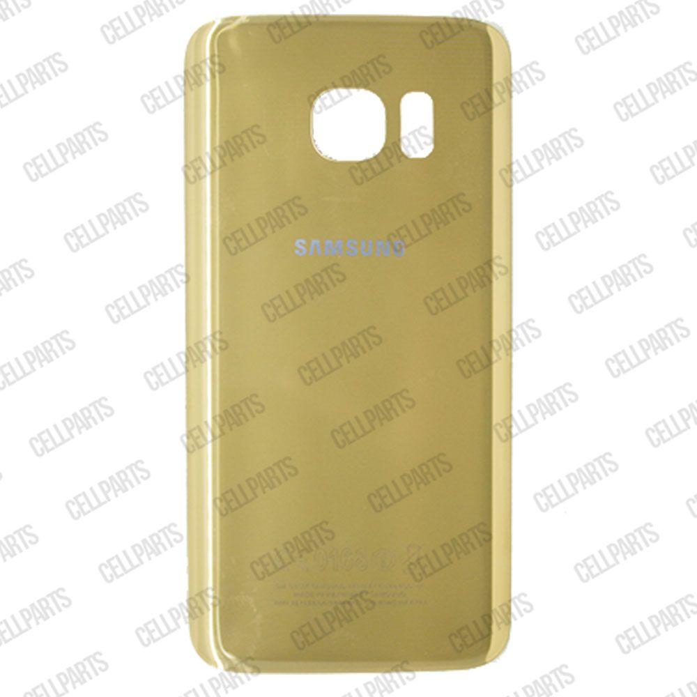 Tampa Traseira Samsung G930 S7 Dourada
