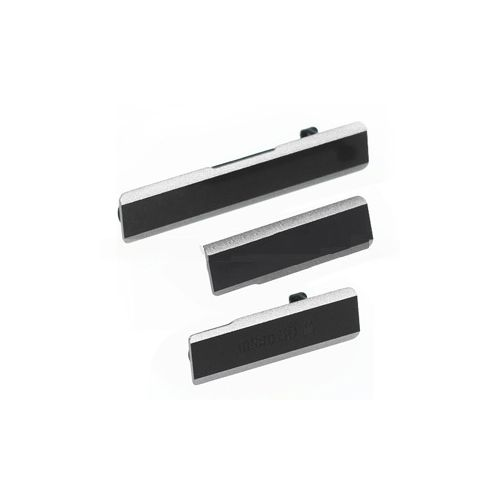 Tampa Vedação Lateral Micro USB Sony Xperia Z1 C6943 Preta