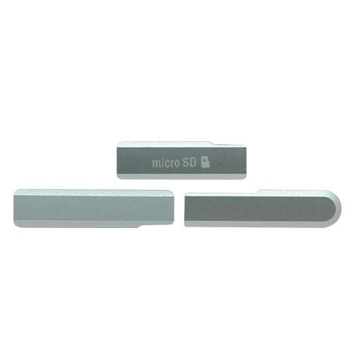 Vedação Lateral Micro Usb Sony Xperia Z1 Compact Branco