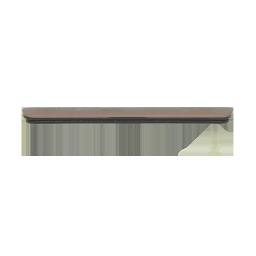 Vedação Lateral Micro USB Sony Xperia Z3 D6633 D6643 Bronze