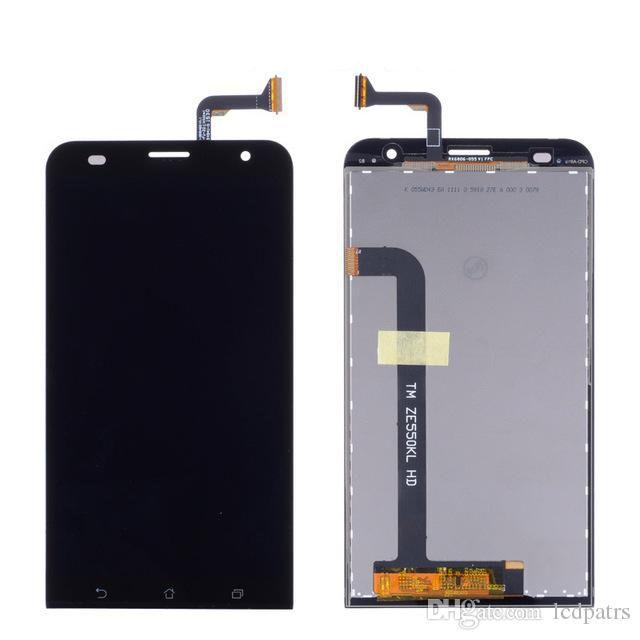Tela Frontal Asus Zenfone 2 Laser ZE550KL Z00LDD Z00LD Preto