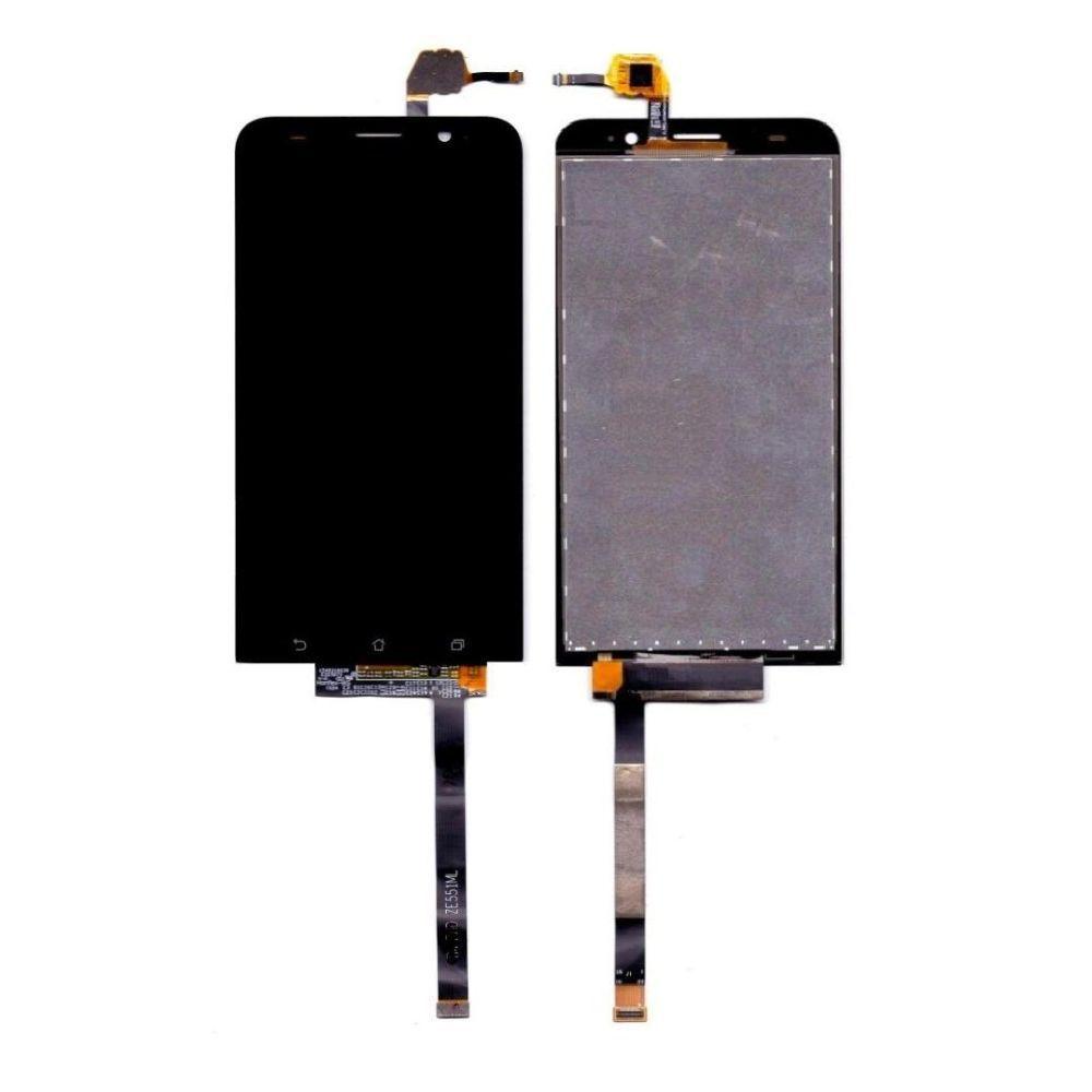 Tela Frontal Asus Zenfone 2 Laser ZE550ML Preto