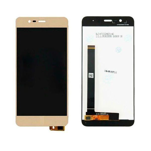 Tela Frontal Asus Zenfone 3 Max ZC520TL X008 X008DA Dourado