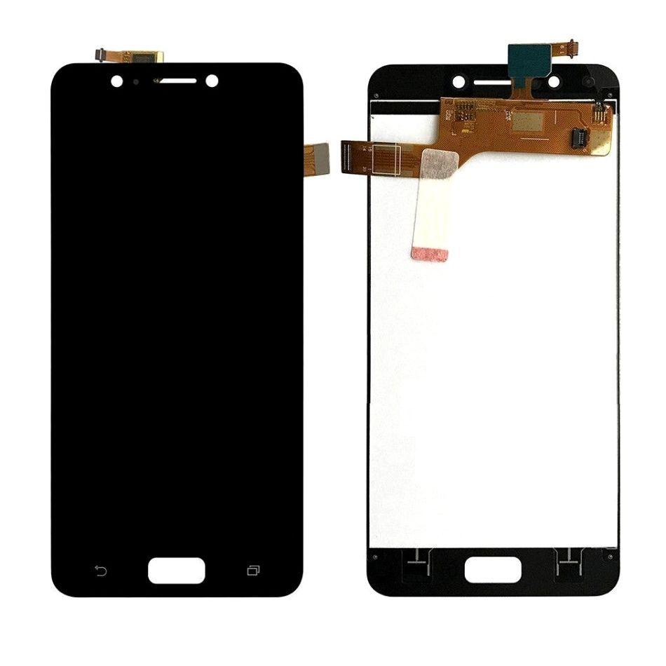 Tela Frontal Asus Zenfone 4 Max ZC520KL X00HD Preto