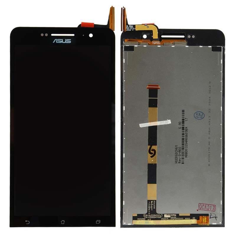 Tela Frontal Asus Zenfone 6 A600 A601 Preto