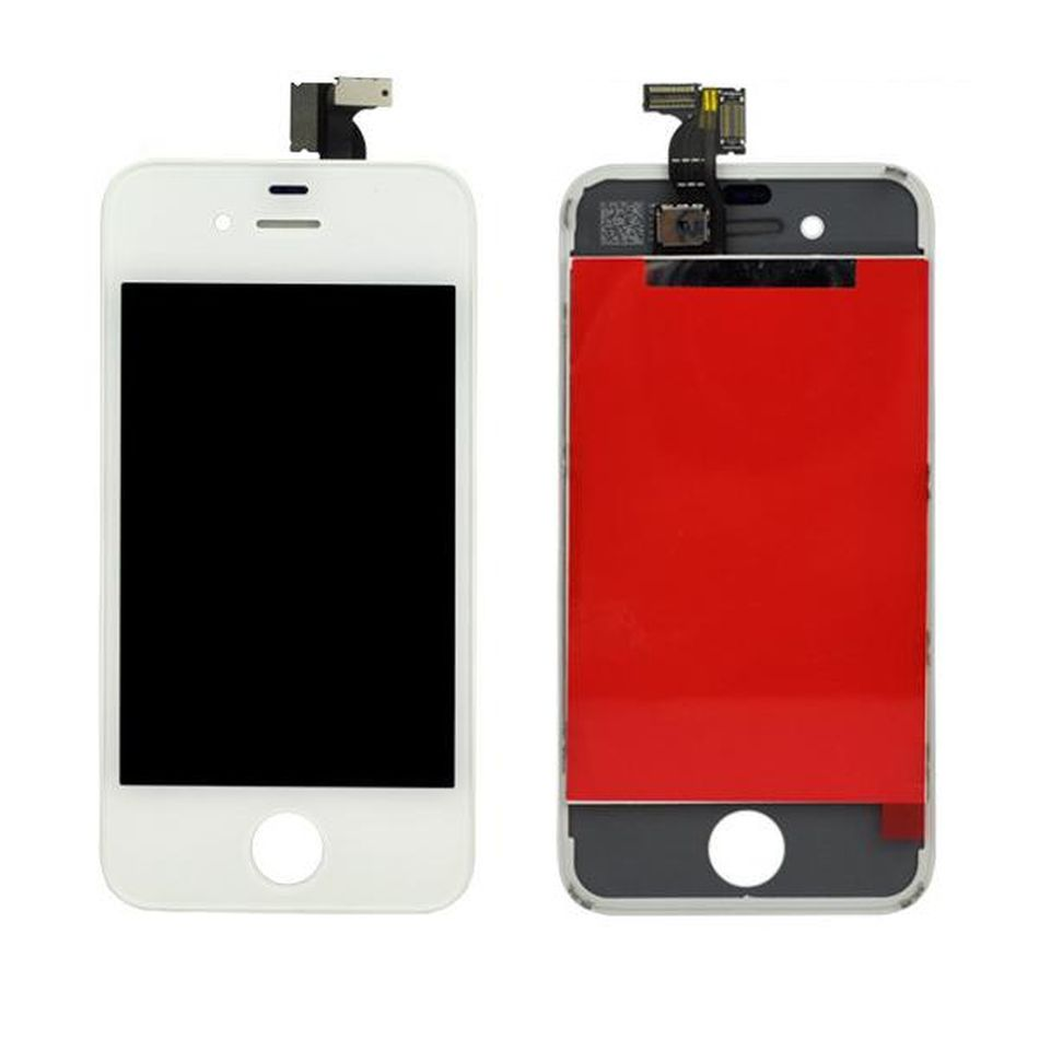 Tela Frontal iPhone 4G A1349 A1332 Branco