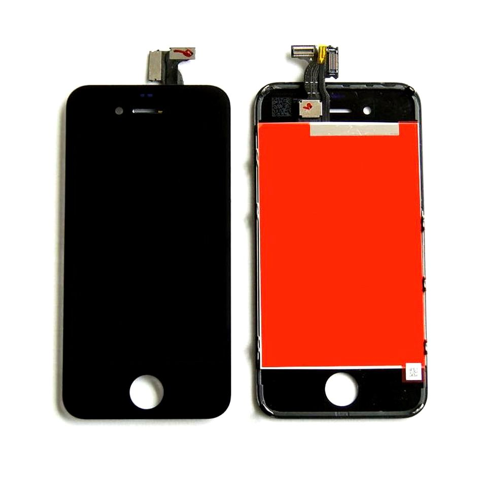 Tela Frontal iPhone 4G A1349 A1332 Preto