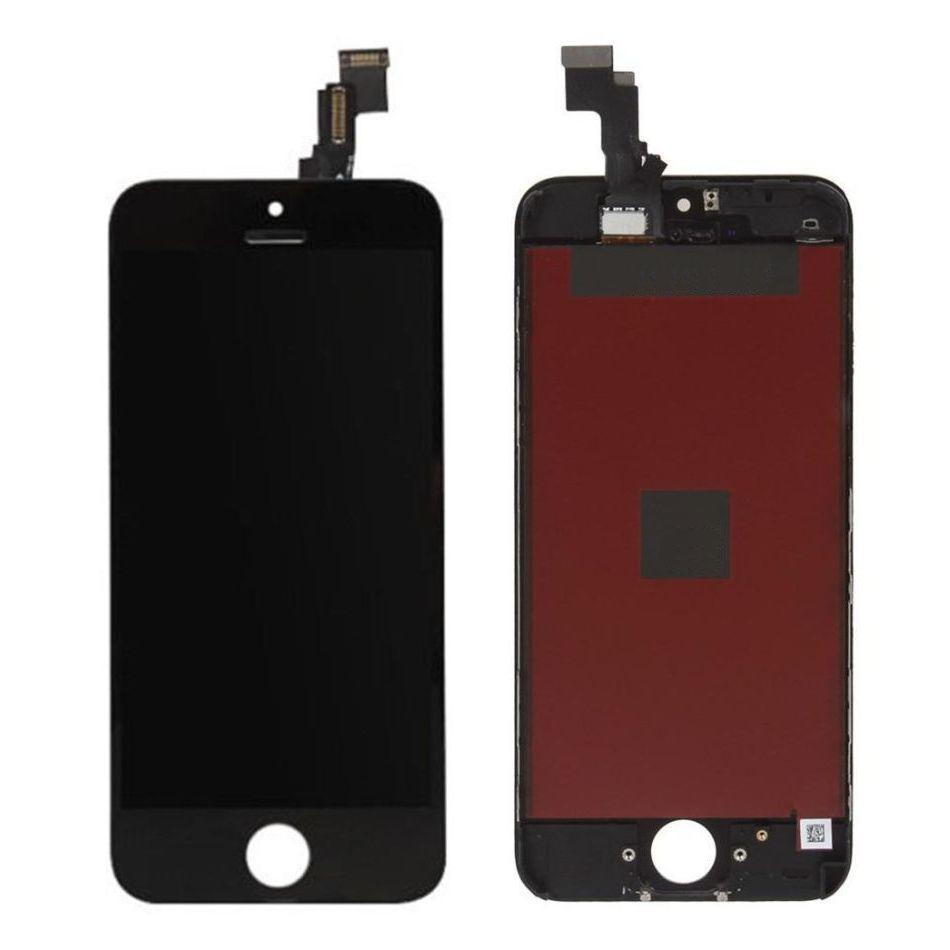 Tela Frontal iPhone 5C A1456 A1507 A1516 A1529 A1532 Preto