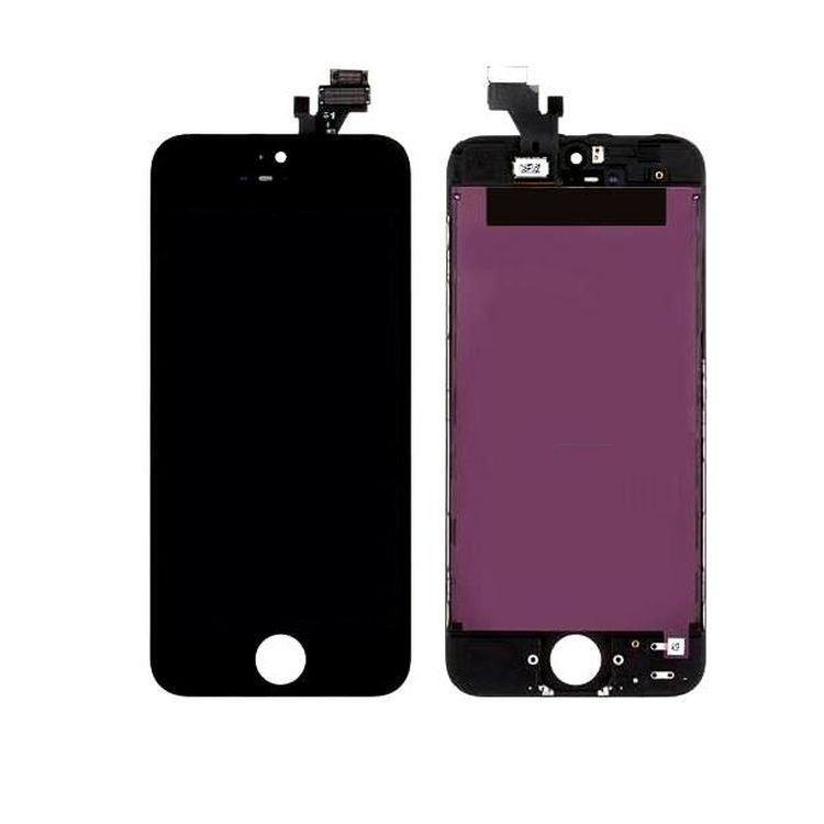 Tela Frontal iPhone 5G A1428 A1429 A1442 Preto