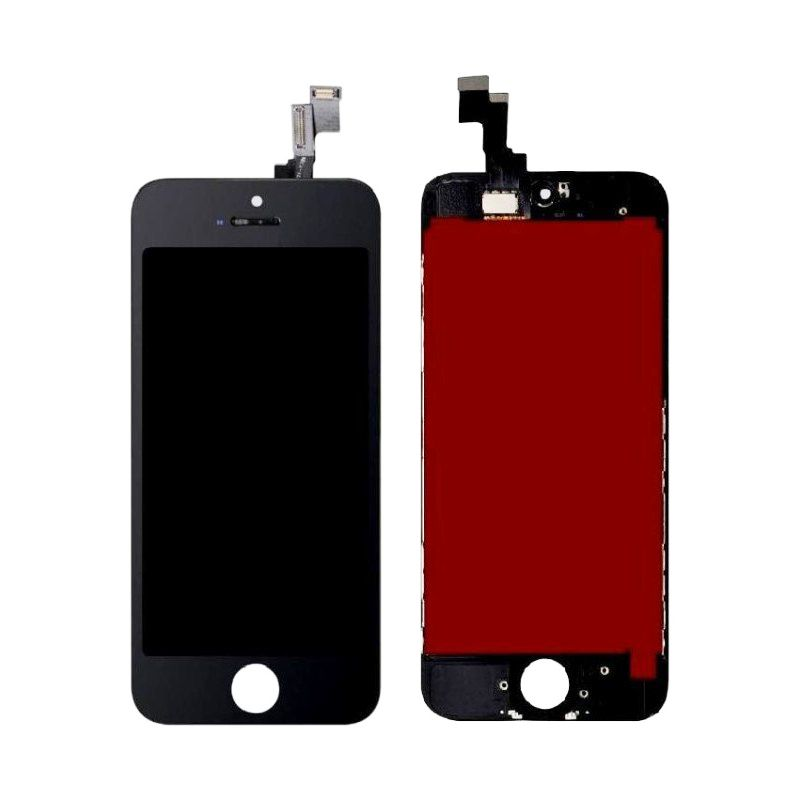 Tela Frontal iPhone 5S A1453 A1457 A1518 A1528 Preto
