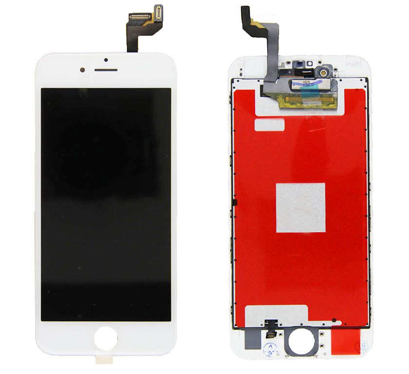 Tela Frontal iPhone 6S A1633 A1688 A1700 Branco
