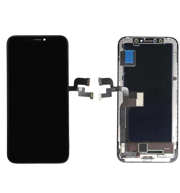 Tela Frontal Iphone X A1865 A1901 A1902 Preto