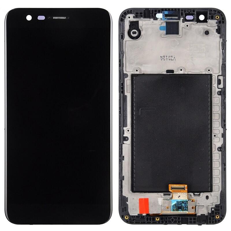 Tela Frontal LG K10 2017 M250 Preto