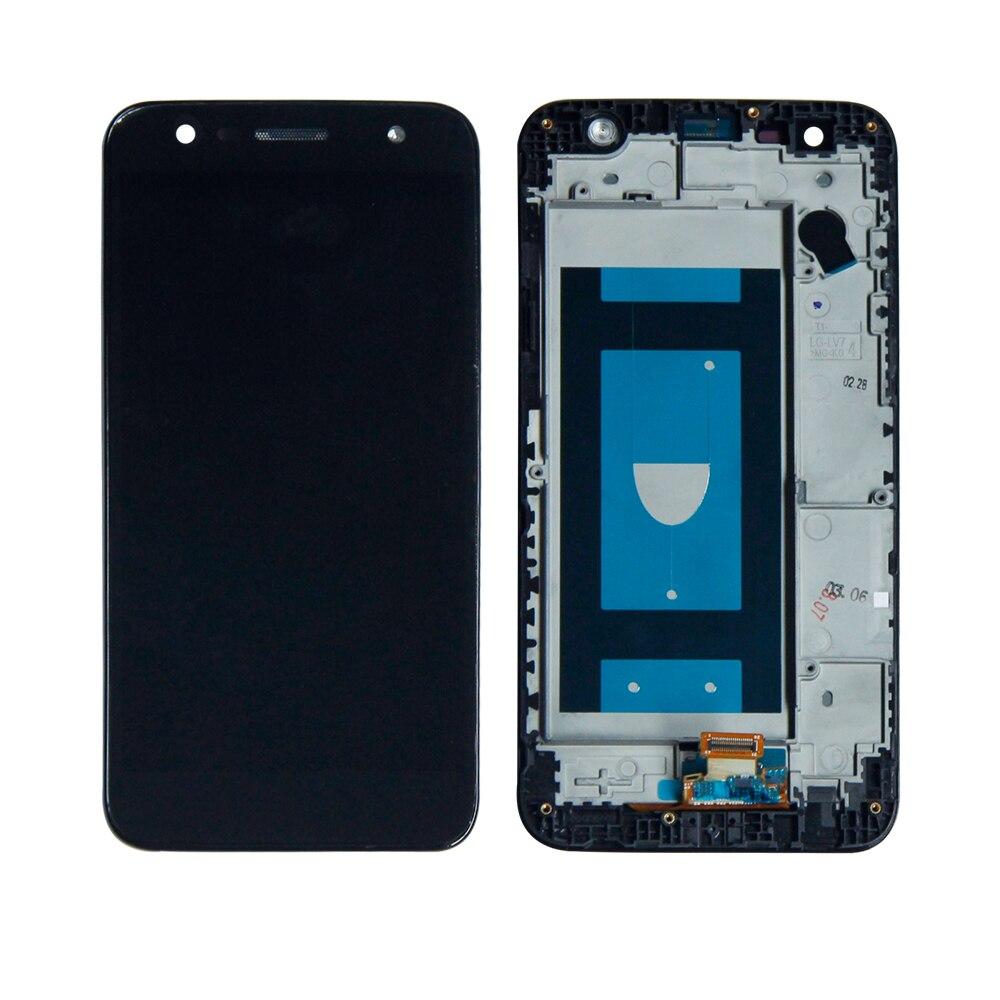 Tela Frontal LG K10 Power M320 Preto