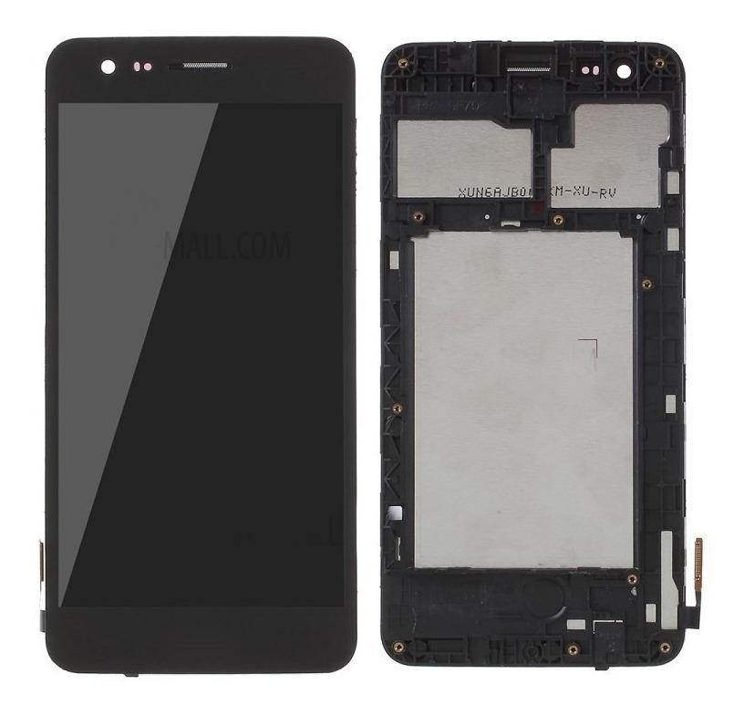 Tela Frontal LG K4 2017 M151 M160 c/ aro Preto
