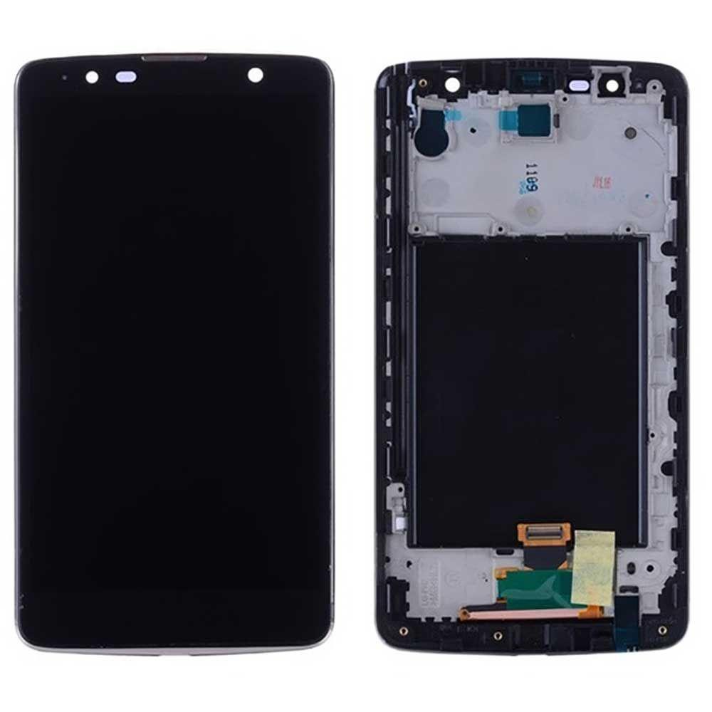 Tela Frontal LG K530 Stylus 2 Plus c/ aro Preto