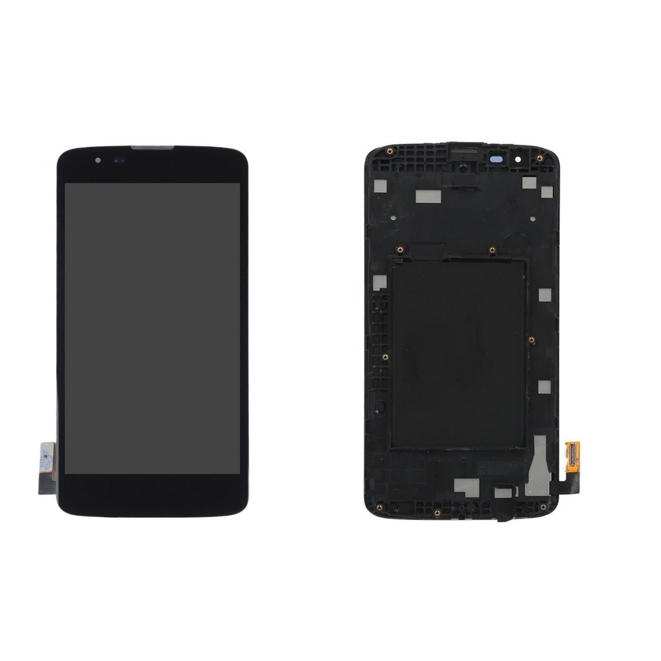 Tela Frontal LG K7 K330 c/ aro Preto