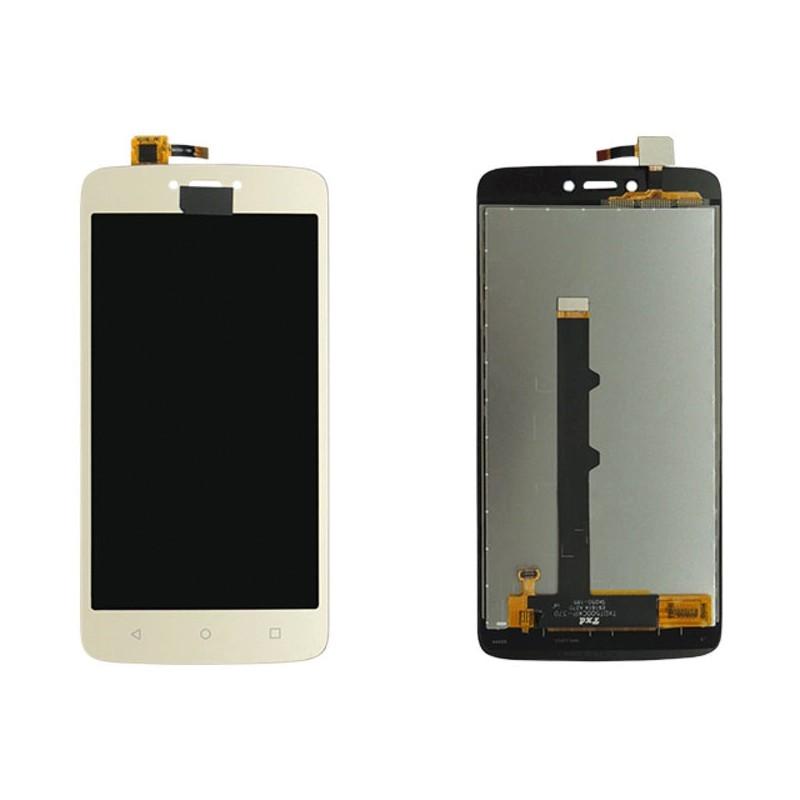 Tela Frontal Motorola Moto C XT1750 XT1754 XT1756 XT1758 Dourada