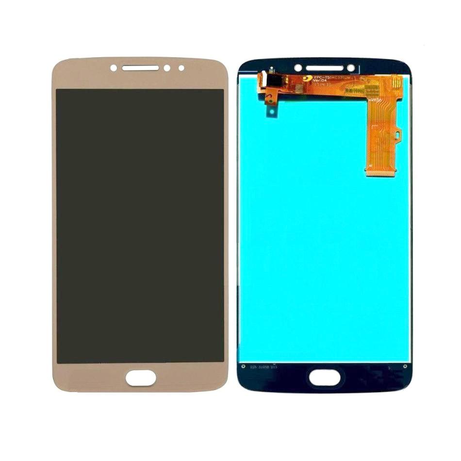 Tela Frontal Motorola Moto E4 Plus XT1770 XT1773 Dourado