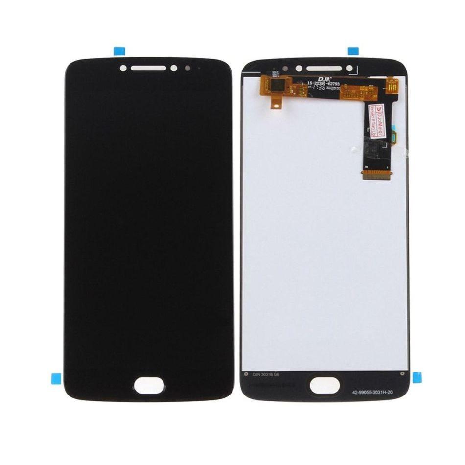 Tela Frontal Motorola Moto E4 Plus XT1770 XT1773 Preto