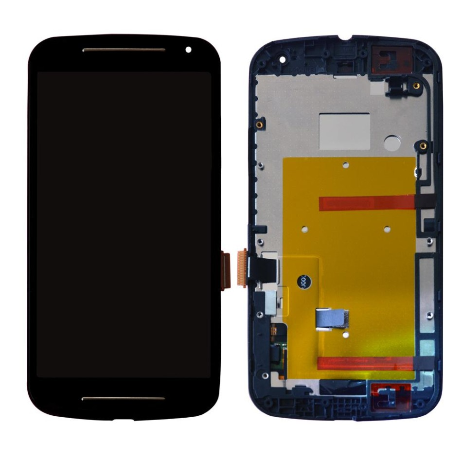Tela Frontal Motorola Moto G2 XT1068 XT1069 Preto