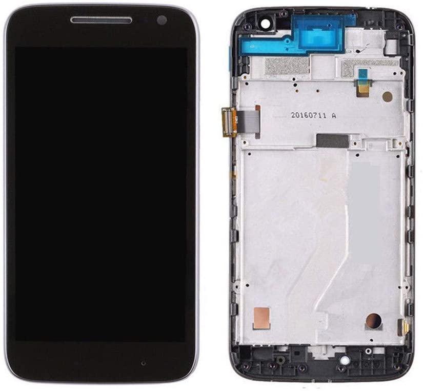Tela Frontal Motorola Moto G4 Play XT1600 XT1603 C/ Aro Preto