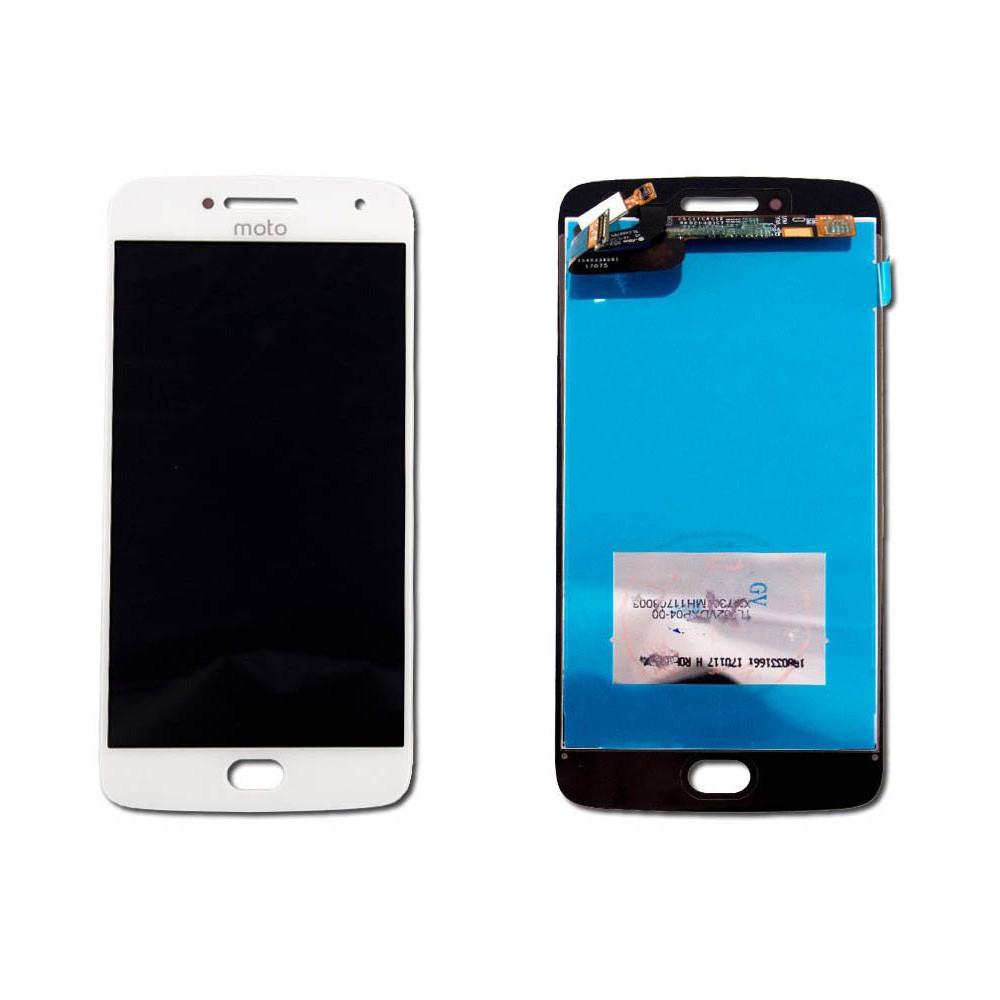 Tela Frontal Motorola Moto G5 Plus XT1683 Branco