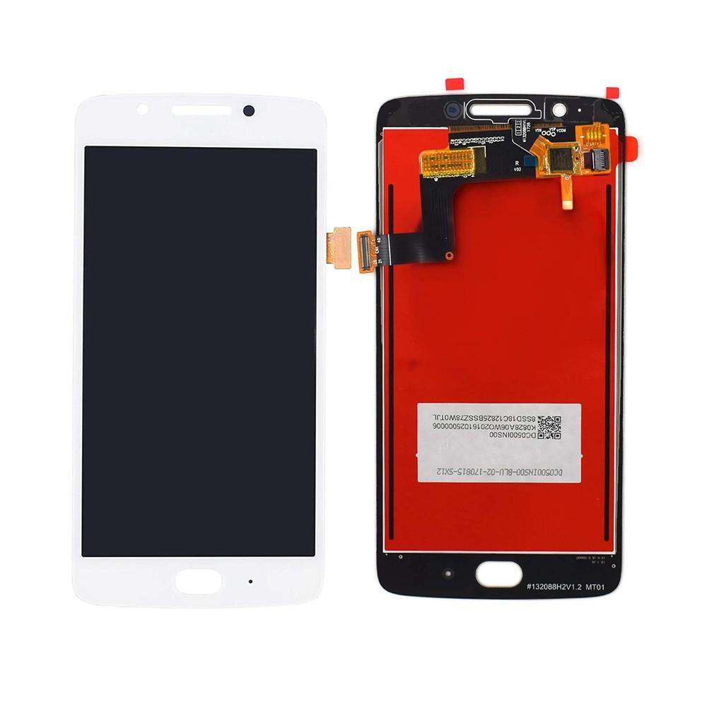 Tela Frontal Motorola Moto G5 XT1672 Branco