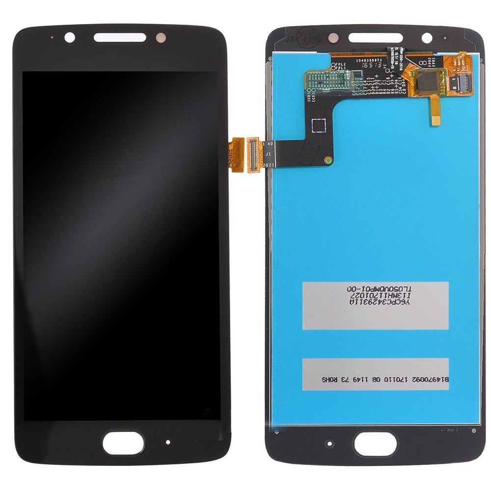 Tela Frontal Motorola Moto G5 XT1672 Preto