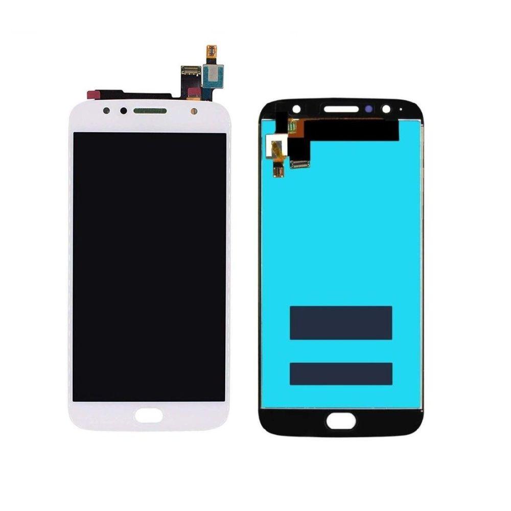 Tela Frontal Motorola Moto G5S Plus XT1802 Branco