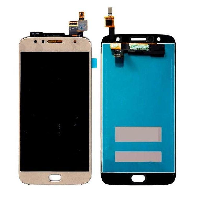 Tela Frontal Motorola Moto G5S Plus XT1802 Dourado