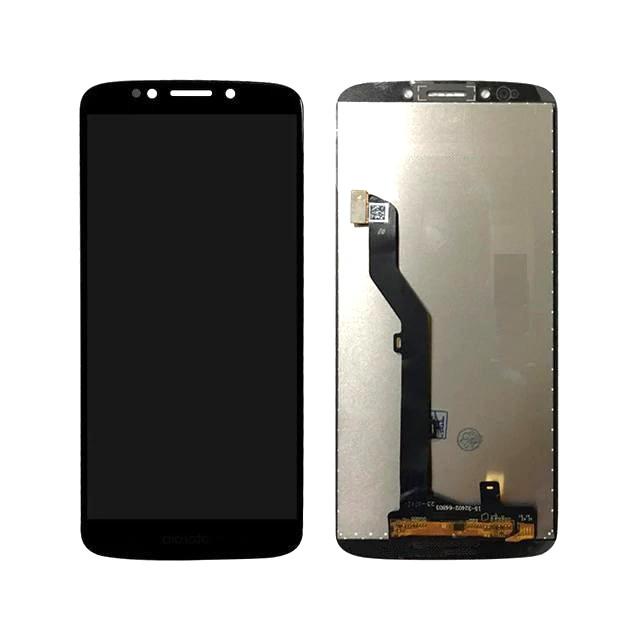 Tela Frontal Motorola Moto G6 Play XT1922 Moto E5 XT1944 Preto