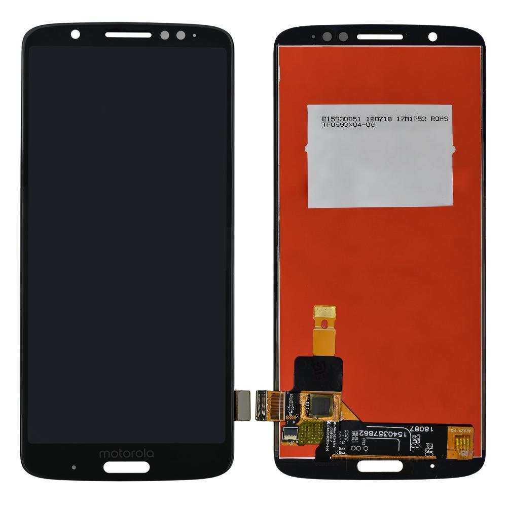 Tela Frontal Motorola Moto G6 Plus XT1926 Preto
