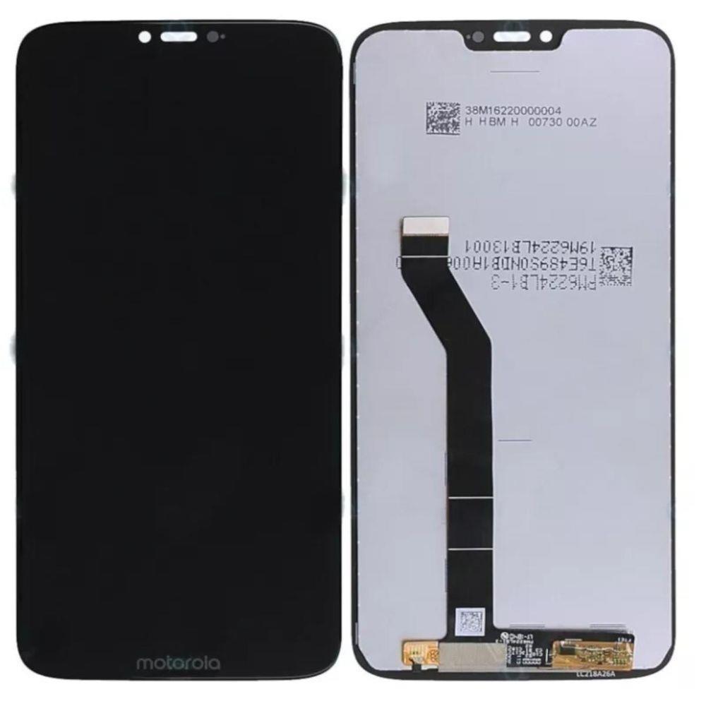 Tela Frontal Motorola Moto G7 Power XT1955 Preto