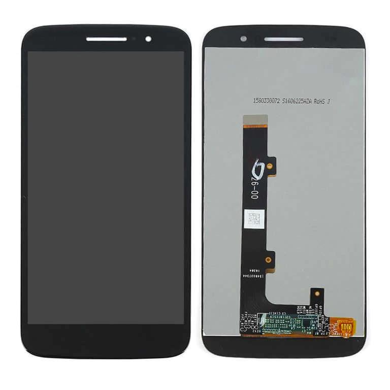 Tela Frontal Motorola Moto M XT1662 XT1663 Preto