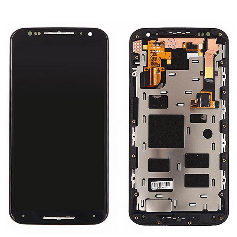 Tela Frontal Motorola Moto X2 XT1097 XT1098 Preto