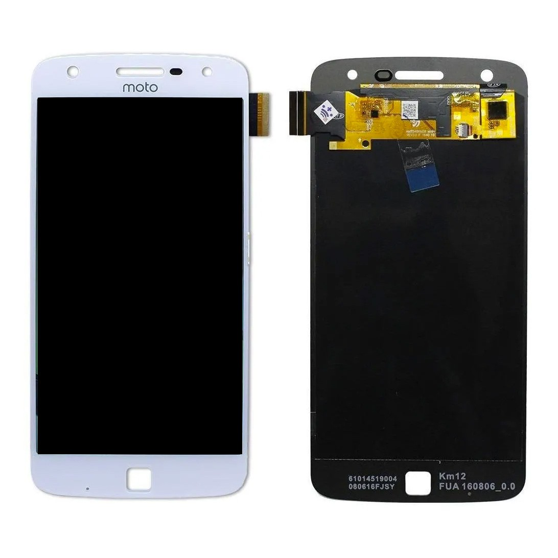 Tela Frontal Motorola Moto Z Play XT1635 Branco