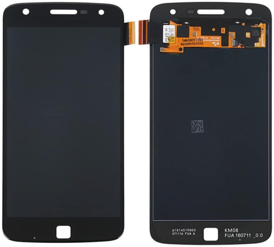 Tela Frontal Motorola Moto Z Play XT1635 Preto