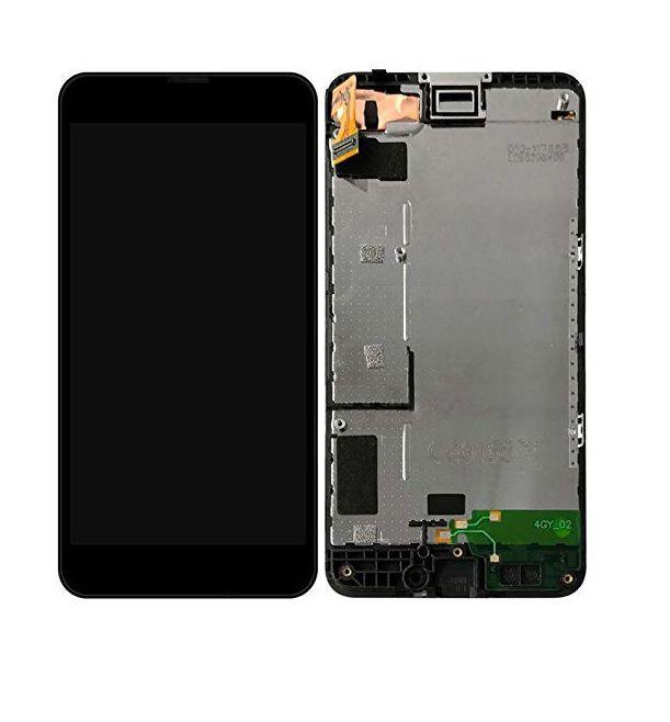 Tela Frontal Nokia Lumia 630 RM979 c/ aro Preto