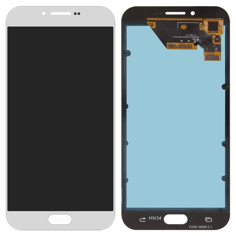 Tela Frontal Samsung A810 A8 2016 OLED Prata