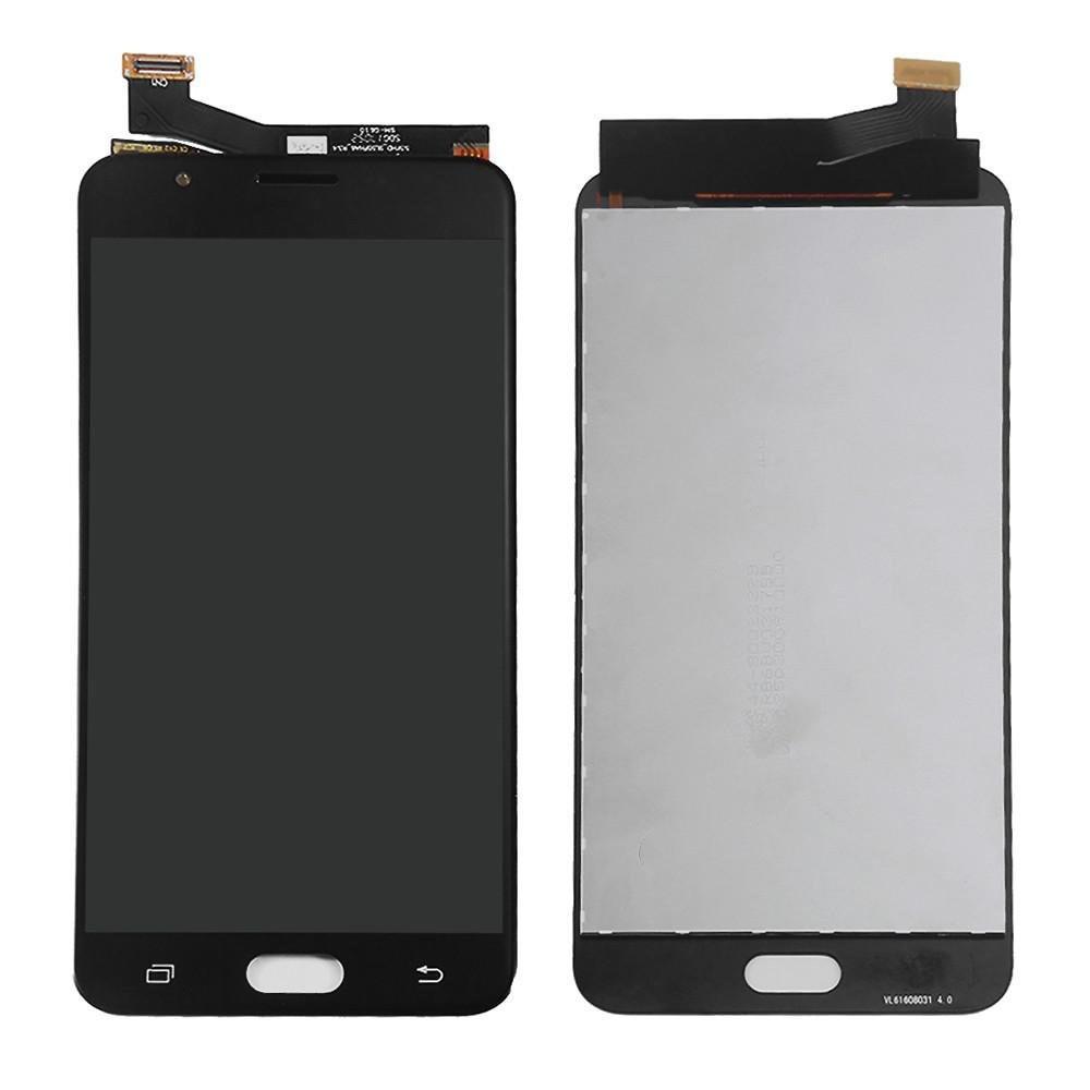Tela Frontal Samsung G610 J7 Prime Preto OLED China