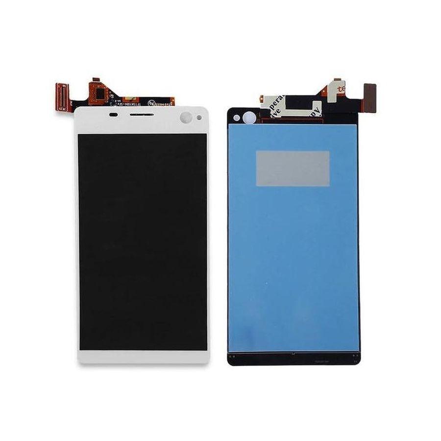 Tela Frontal Sony Xperia C4 E5333 E5363 E5343 E5303 Branco